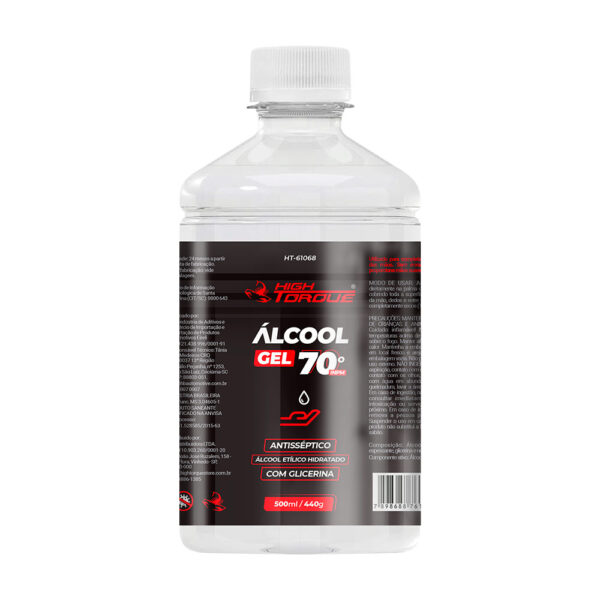 Álcool Gel 70° INPM High Torque