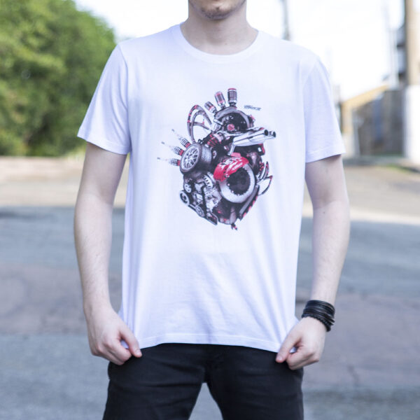 Camiseta Engine Heart High Torque 3